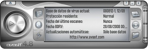 Antivirus gratis Avast 4.8 home edition