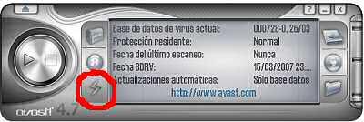 Actualización de Avast