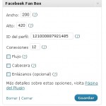 Facebook Fan Box Widget para WordPress