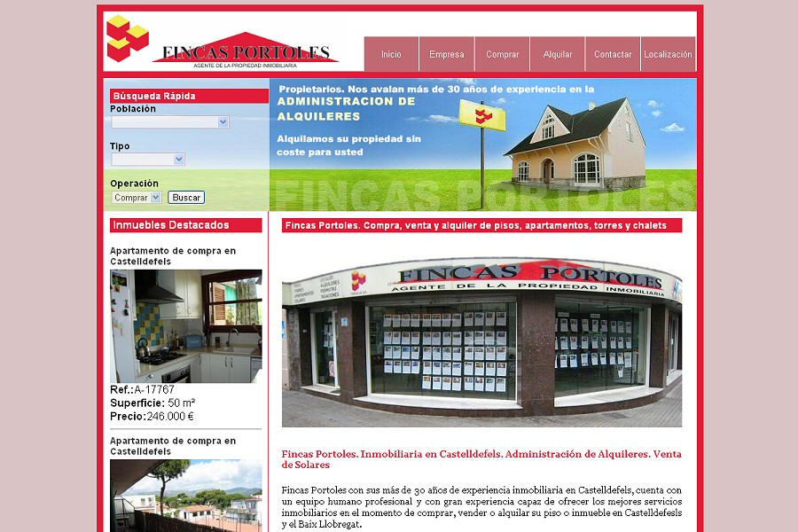 diseno and web and promotora: