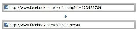 Facebbok url personalizado con nombre de usuario o página