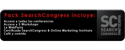 SearchCongress Barcelona 1 y 2 de Marzo 2012 | Evento Avanzado de Marketing Online
