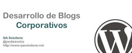 Desarrollo de Blogs Corporativos