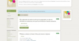 TodoPensamientos. Una web dedicada a las frases, citas y refranes