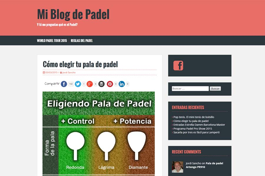 Dise o de blogs profesionales con wordpress qa solutions for Blog cocina wordpress