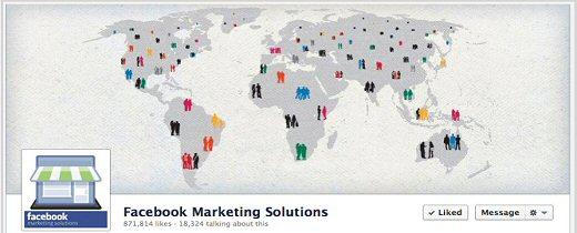 Nuevo Timeline de las páginas de Facebook. #infografia