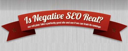 Seo negativo. #infografia
