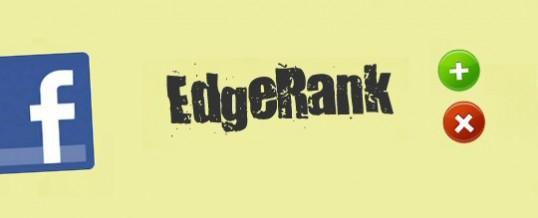 ¿Qué es el Edgerank de Facebook? #PostZip #infografia