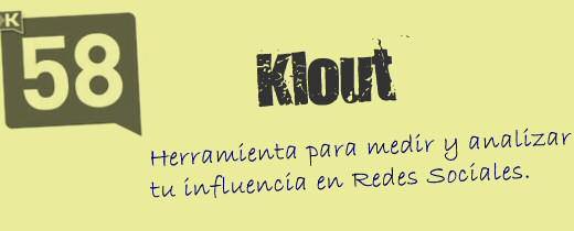 Qué es Klout #postzip #infografia